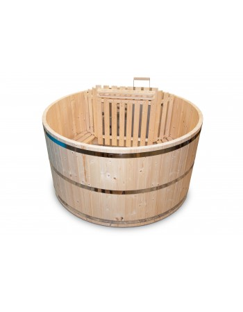The base model: wooden hot tub