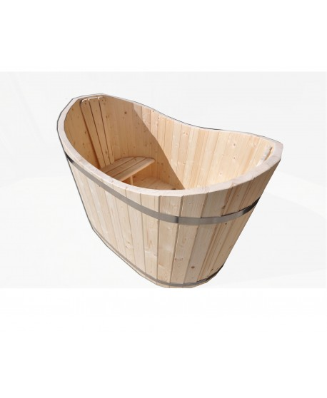 Wooden ofuro tub