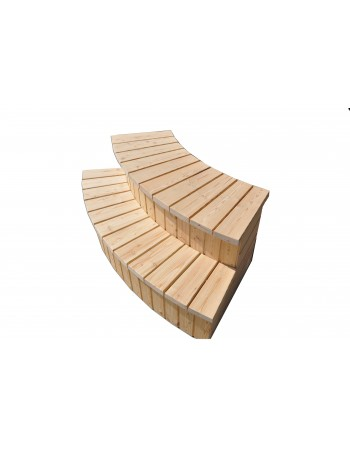 stairs for hot tub