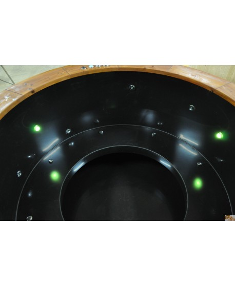 Plastic open type seats for hot tub