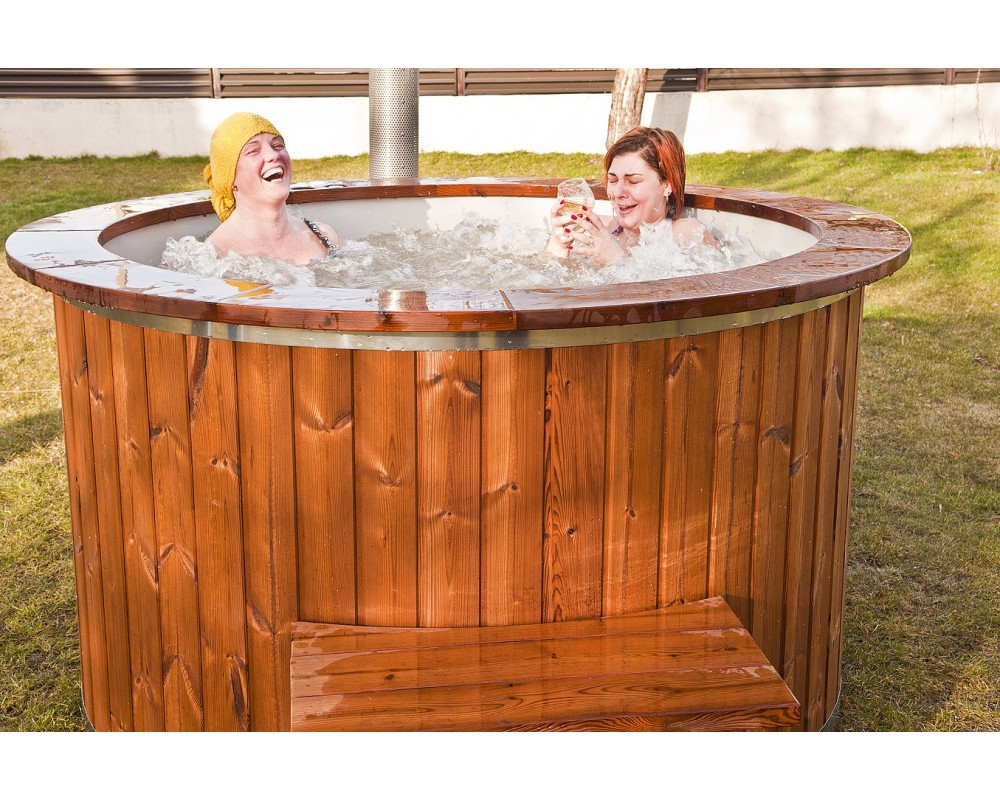 massage system for hot tub