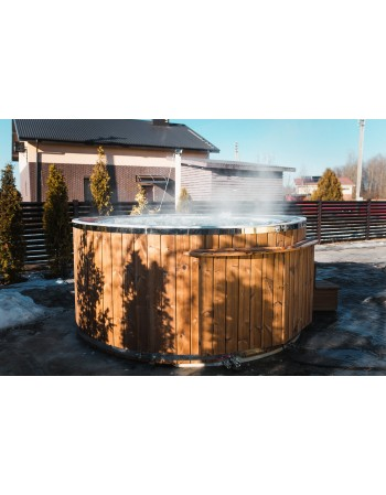 Outdoor SPA with overflow system 1.9 m