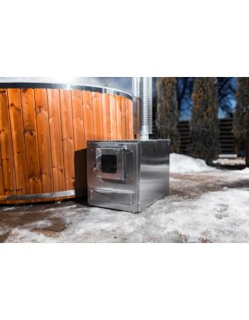 external burner for hot tub