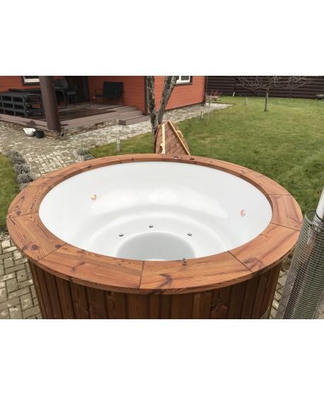 Wood fired hot tub 1,82 m