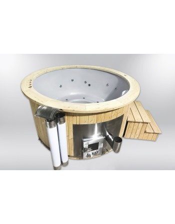 Royal fiberglass hot tub