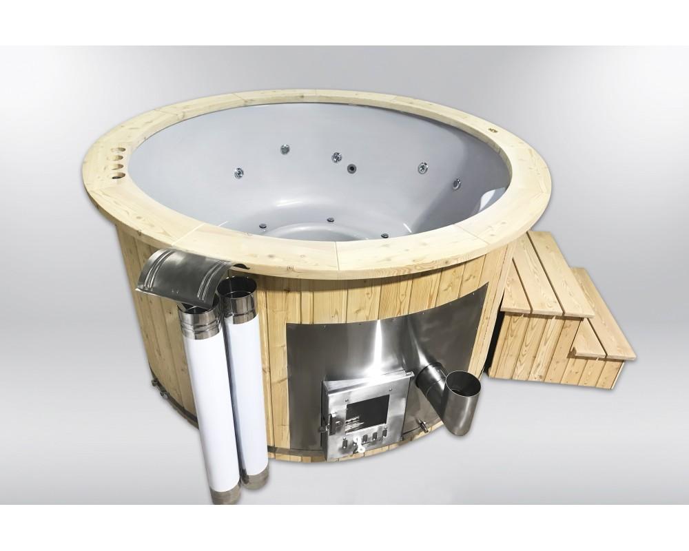 Royal fiberglass hot tub