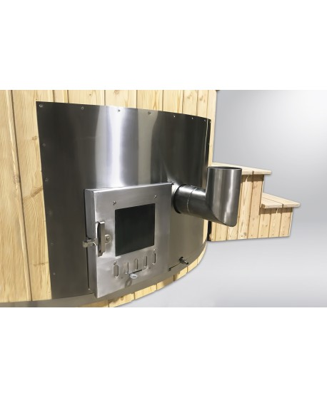 integrated heater hot tub
