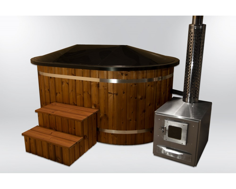 Ofuro hot tub with massages