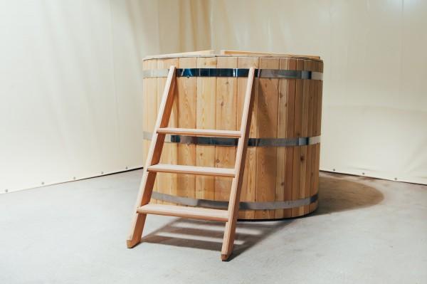 wooden ofuro bath