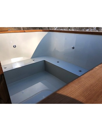hot tub benches