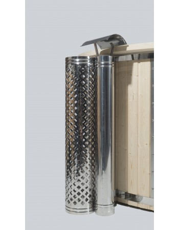 hot tub heater chimney