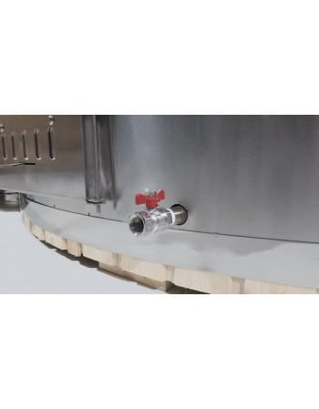 integrated hot tub stove