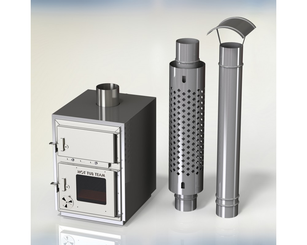 External stainless steel stove KI Np-50