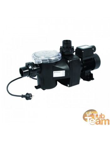 Hot tub water filtration system