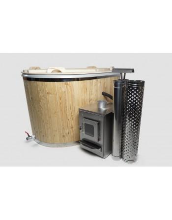 Fiberglass Japanese bath