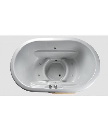 Fiberglass bath for 2