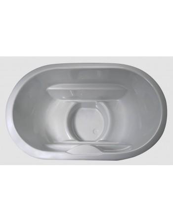 Fiberglass hot tub for 2