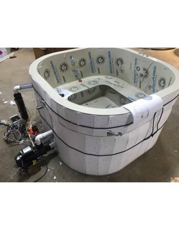 180cm plastic hot tub for individual client