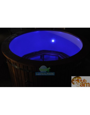 LED lighting in hot tub