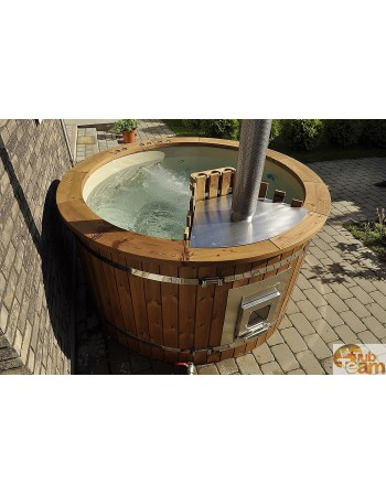 Hot tub with integrated oven 1,8 m, 5-6 people