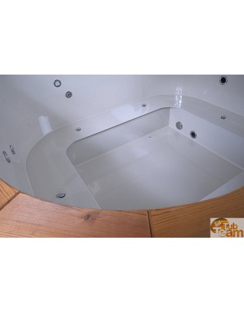 Special model for individual client , Plastic square hot tub