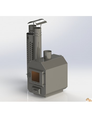 External stainless steel stove MK 525
