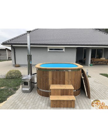 Style square shape hot tub for family