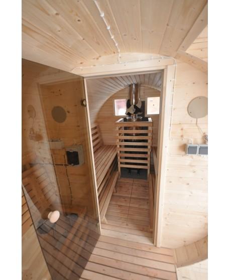 """Mobile sauna """"Barrel"""""""